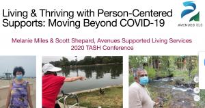 Avenues SLS' TASH Conference Presentation – 2020